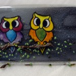 Kilnformed Owl Wall Tile Process Gallery